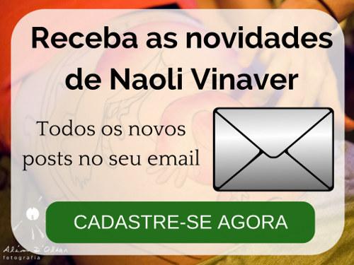 Novidades Naoli Vinaver - Cadastre-se